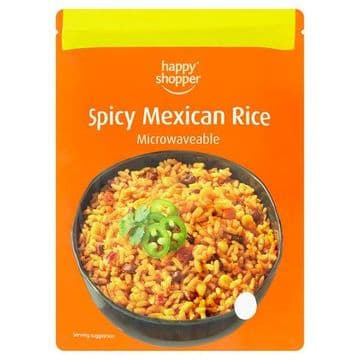 Happy Shopper Spicy Mexican Rice 250g  (UK)