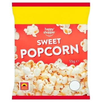Happy Shopper Sweet Popcorn 55g (UK)