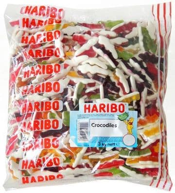 Haribo Crocodiles 3kg Bag