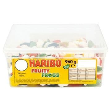 HARIBO Fruity Frogs 2p X 300 Pieces 750g
