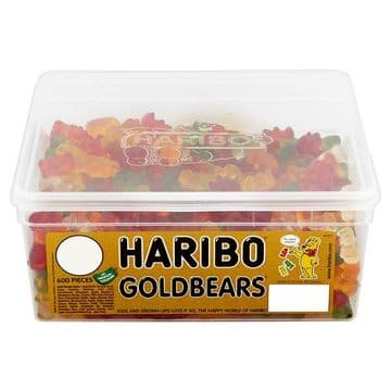 HARIBO Goldbears X600 1p Pieces