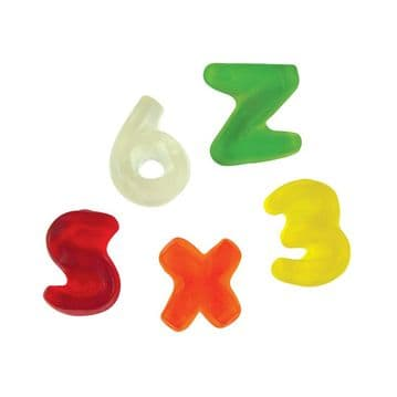 Haribo Letters & Numbers 100g ( UK )