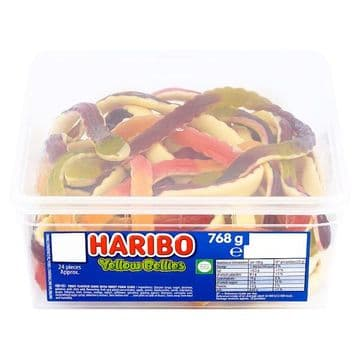 HARIBO Yellow Bellies 24 pieces 768g