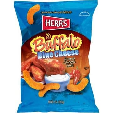 Herr's Buffalo Blue Cheese Curls 7oz (199g) (US)