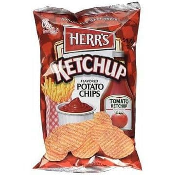 Herr's Ketchup Potato Chips 3.5oz (US)