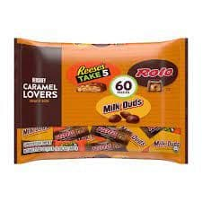 Hershey Caramel Lovers Snack Size Take 5, Rolo & Milk Duds 60 pieces 888g ( US )