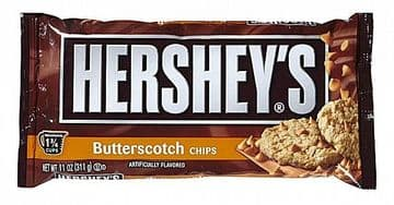 Hershey's Baking Chips Butterscotch  311g ( US )