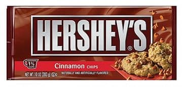 Hershey's Baking Chips Cinnamon 283g ( US )