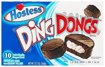 Hostess Ding Dongs (Box of 10) (US)