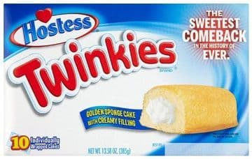 Hostess Twinkies 385 g (pack of 10) (US)
