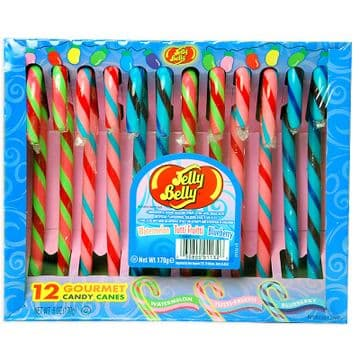 Jelly Belly Candy Canes Watermelon / Tutti Frutti / Blueberry