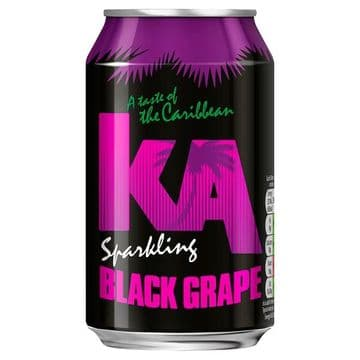 KA Sparkling Black Grape 330ml Can (UK)