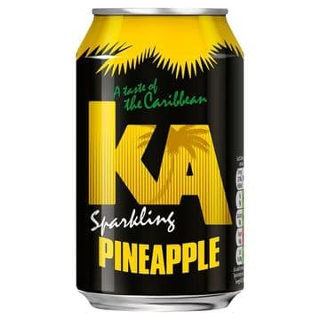 KA Sparkling Pineapple 330ml Can (UK)