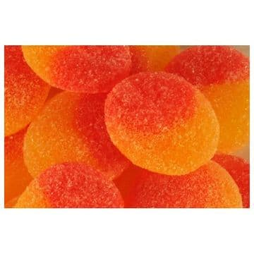 Kingsway Fizzy Peaches 100g  (UK)