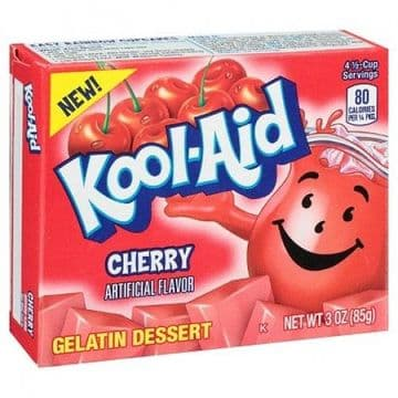 Kool Aid Cherry Jelly Mix 3oz (85g)  (US)