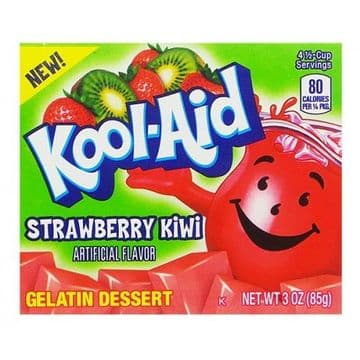 Kool Aid Strawberry Kiwi Jelly Mix 3oz (85g) (US)