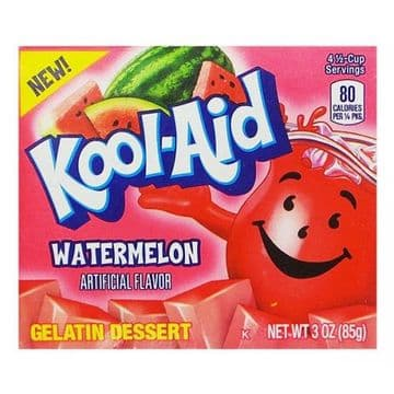 Kool Aid Watermelon Jelly Mix 3oz (85g) (US)