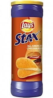 Lay's Stax All-American Cheeseburger ( 156g) (US)