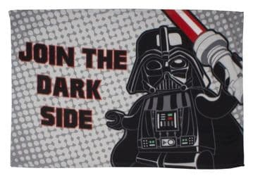 "Lego Star Wars ""Villains"" Character Fleece Blanket Snuggle Throw"