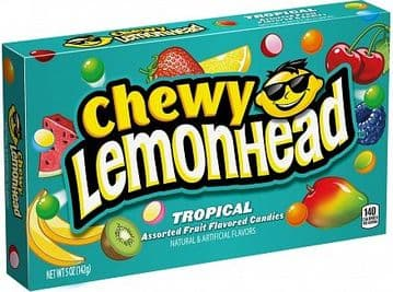 Lemonhead Chewy  Tropical 142g ( US )