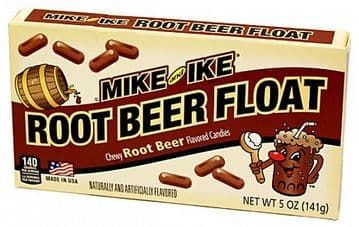 Mike and Ike Root Beer Float 5oz (141g) Theatre Box (US)