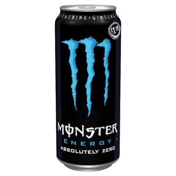 Monster Energy Absolutely Zero 500ml (UK)