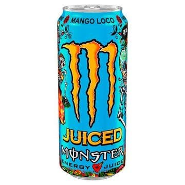 Monster Juiced Mango Loco 500ml Case 12 Cans (UK)
