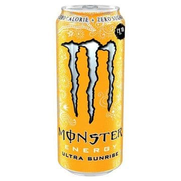 Monster Ultra Sunrise 500ml Case 12 Cans (UK)