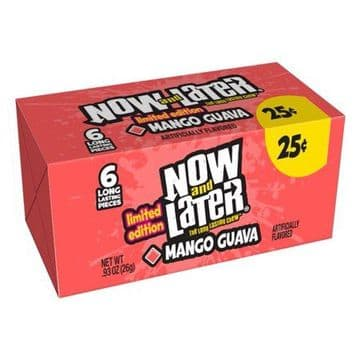 Now & Later Mango Guava 26g 6 pieces ( US )