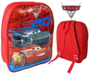 "Official Disney ""Cars 3"" Character Nursery School Backpack"