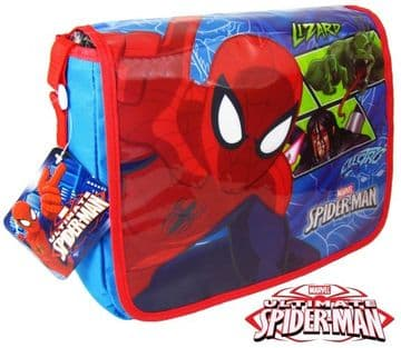 "Official Marvel ""Spider-Man"" Messenger Shoulder Bag ""Perfect For School"""