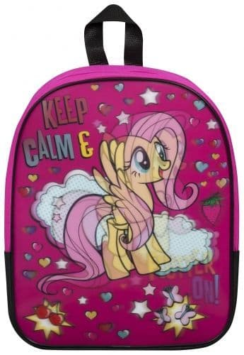 "Official ""My Little Pony"" Character 3D Holographic Junior School Backpack"