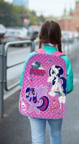 "Official ""My Little Pony"" Character Ex-Large School Backpack"