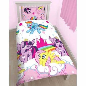 "Official My Little Pony Equestria ""Reversible"" Single Duvet Cover Bedding Set"