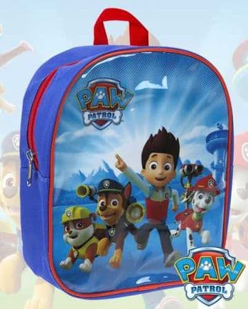 "Official PAW Patrol ""Ryder, Chase & Marshall"" Nursery School Backpack"