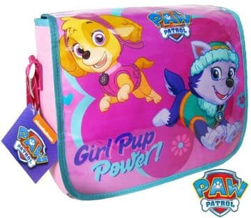 "Official PAW Patrol ""Skye & Everest"" Messenger Shoulder Bag ""Perfect For School"