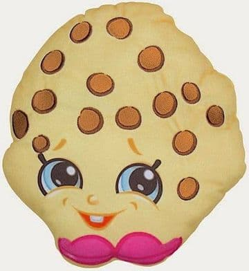 """Official Shopkins """"Cookie"""" Character Plush Pillow Cushion"""