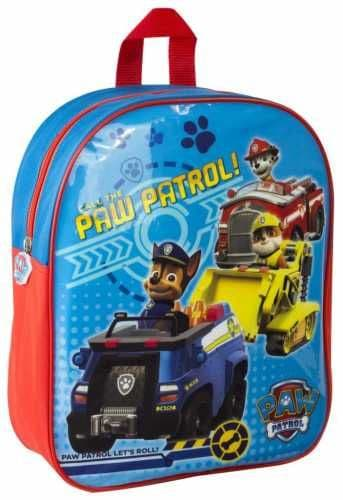 "PAW Patrol ""Chase, Marshall and Rubble"" Junior School Backpacks"