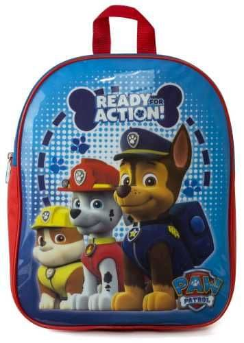 "PAW Patrol ""Chase, Marshall & Rubble"" Character Junior School Backpack"