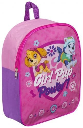 "PAW Patrol ""Girl Pup Power"" Character Junior School Backpack"