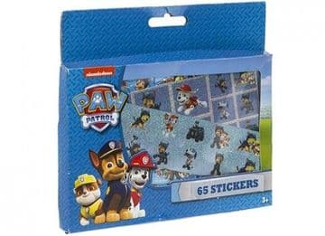 "PAW Patrol ""Ryder, Chase & Marshall"" 65 Piece Sticker Set"