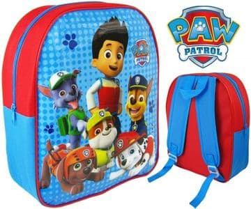 "PAW Patrol ""Ryder, Chase, Marshall & Rubble"" Junior School Backpack"
