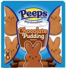 Peeps Chocolate Pudding Bunnies 8 pack 85g ( US )