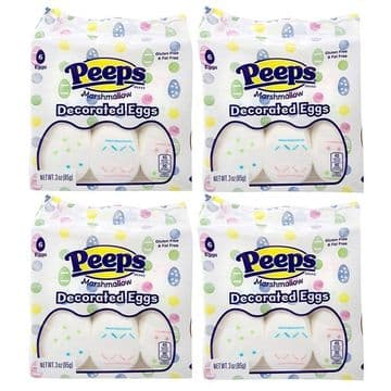 Peeps Decorated Eggs 6 pack 85g ( US )