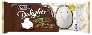 Peeps Delights Dark Chocolate Dipped Coconut Chicks (US)