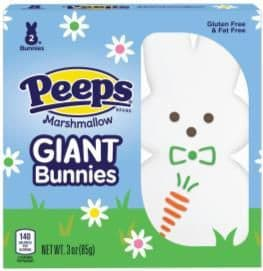 Peeps Giant Bunnies Twin pack 85g ( US )