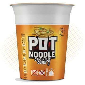Pot Noodle Curry   (UK)