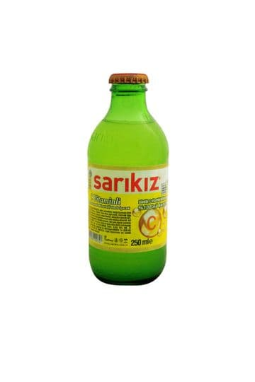 Sarikiz C Vitamin Lemon Flavoured Mineral Carbonated Drink 250ml ( Turkey )