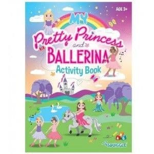 Squiggle My pretty Prince and Ballerina Activity Book