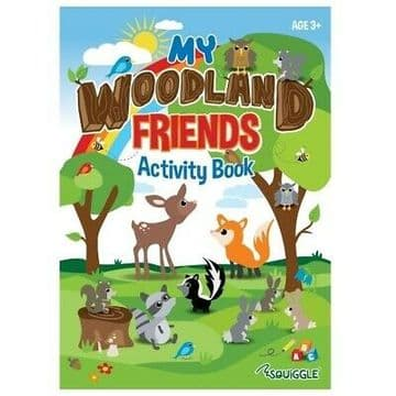SquiggleMy Woodland Friends All-In-One Activity Book